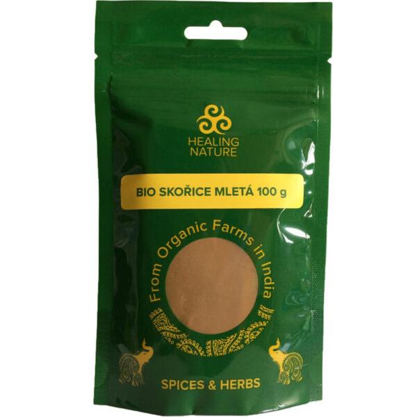 Bio Škorica mletá 100 g od Healing Nature