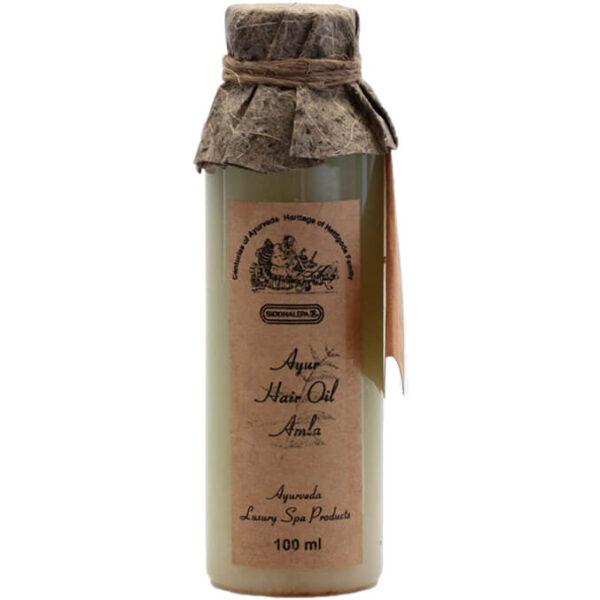Bylinný vlasový olej Amla 100 ml od Siddhalepa