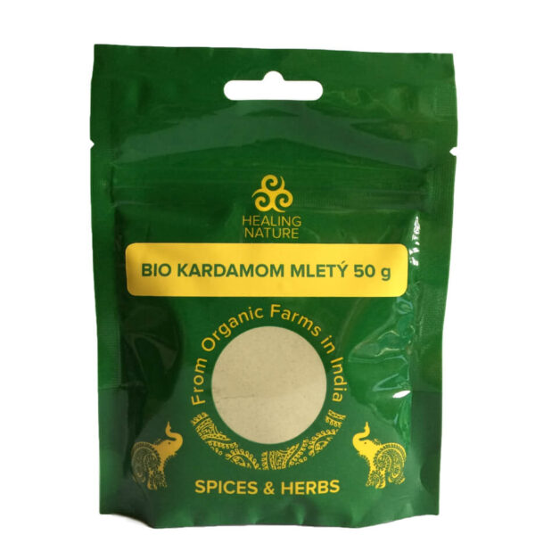 Bio Kardamóm mletý 50 g od Healing Nature