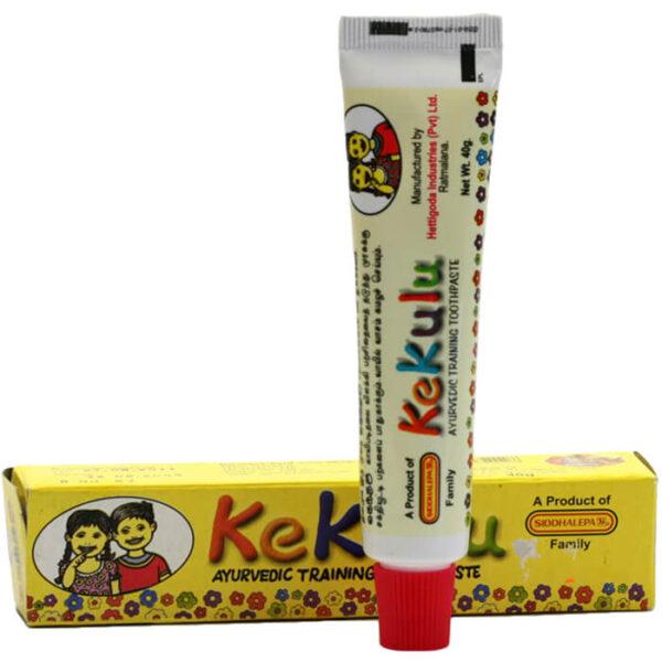 Detská bylinná zubná pasta Kekulu 40 g od Siddhalepa