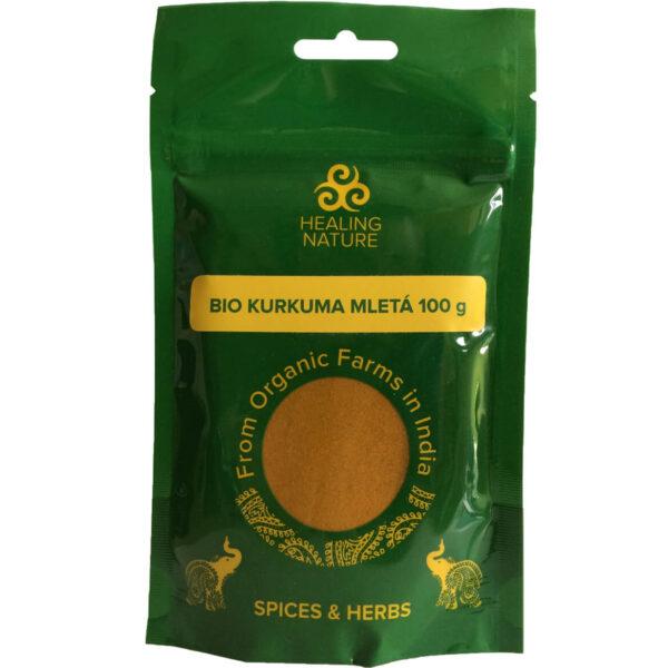 Bio Kurkuma mletá 100 g od Healing Nature