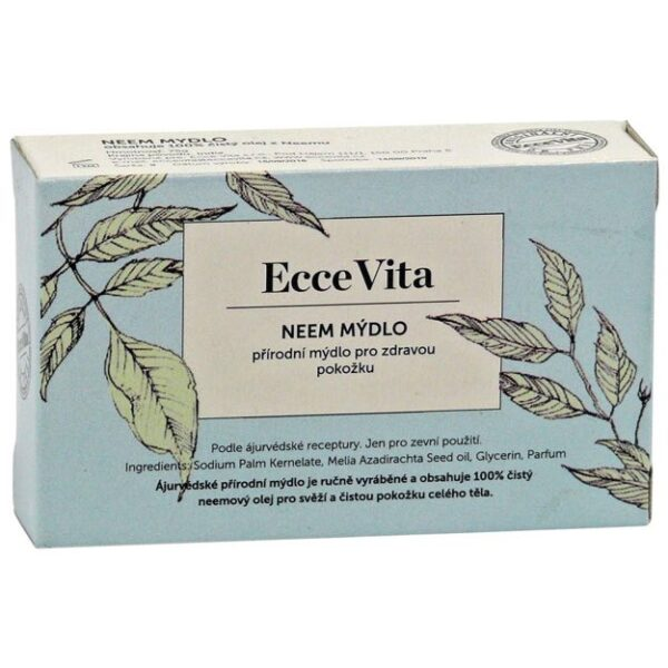 Bylinné mydlo Neem 75 g od Ecce Vita