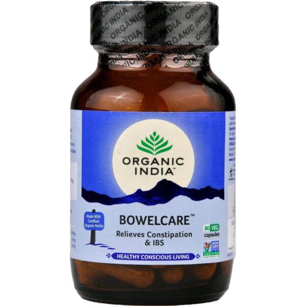 Bylinné kapsuly Bowelcare od Organic India