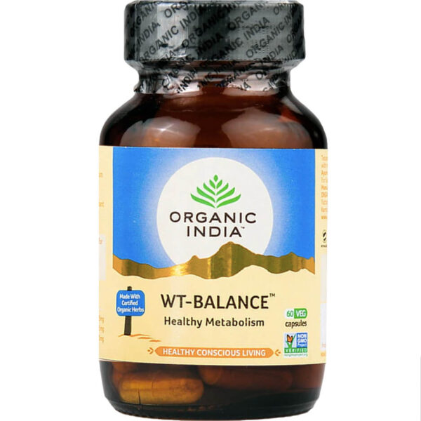 Bylinné kapsuly Weight Balance od Organic India