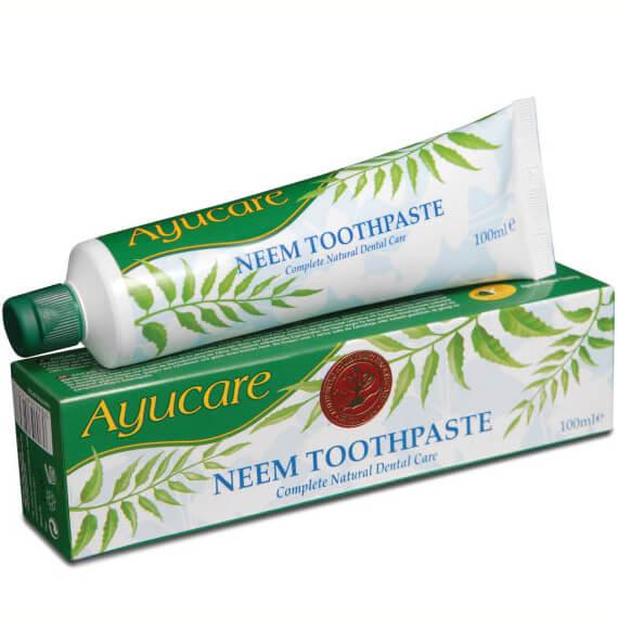 Bylinná zubná pasta Neem 100 ml od Ayucare