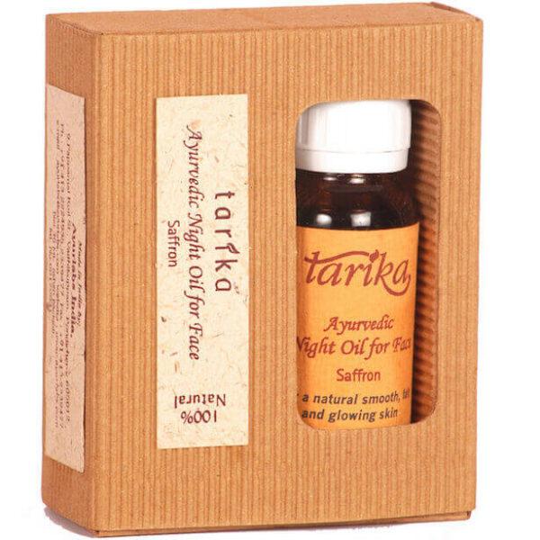 Tarika - nočný pleťový olej so šafránom 30 ml od Ayurlabs India