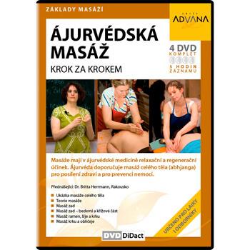 DVD Ajurvédska masáž - krok za krokom