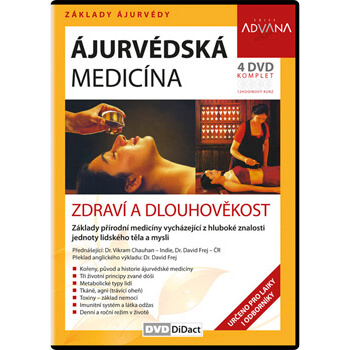 DVD Ajurvédska medicína - zdravie a dlhovekosť