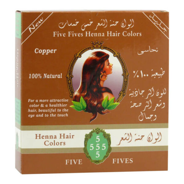 Henna medená 100 g od Five Fives