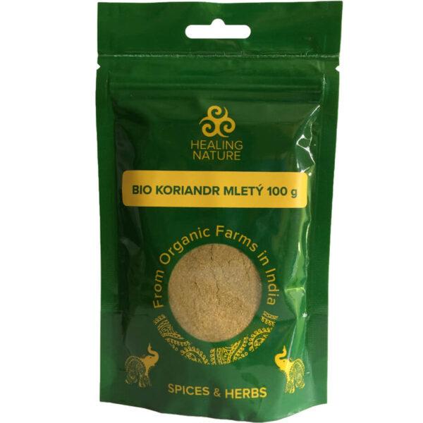 Bio Koriander mletý 100 g od Healing Nature