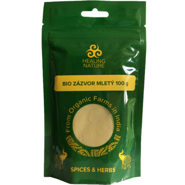 Bio Zázvor mletý 100 g od Healing Nature