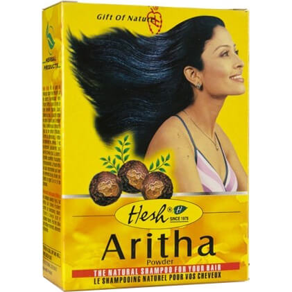 Bylinný práškový šampón Aritha 100 g od Hesh