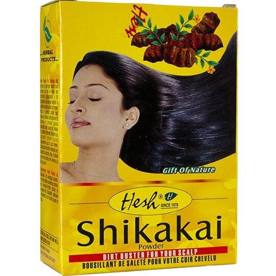 Bylinný práškový šampón Shikakai 100 g od Hesh