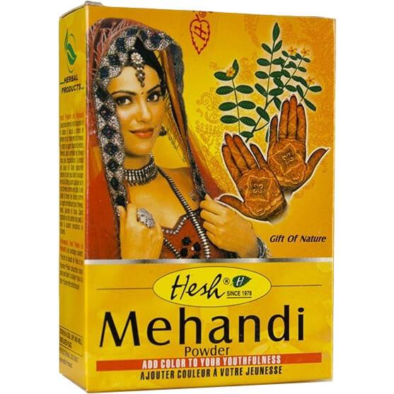 Bylinný práškový šampón Mehandi 100 g od Hesh