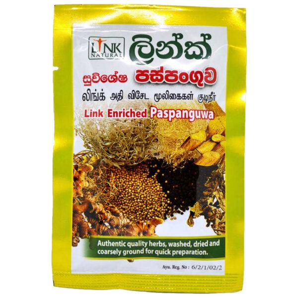 Paspanguwa - bylinný čaj proti nachladnutiu 25 g od Link Natural