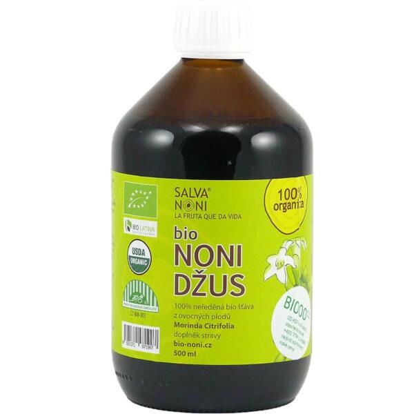 Bio Noni džús 100 % org. šťava 500 ml od Salva Noni