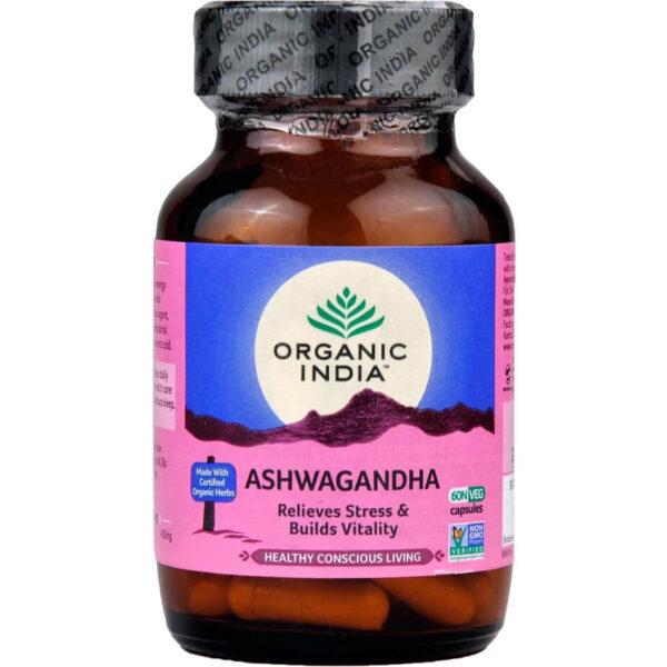 Bylinné kapsuly Ašvaganda od Organic India