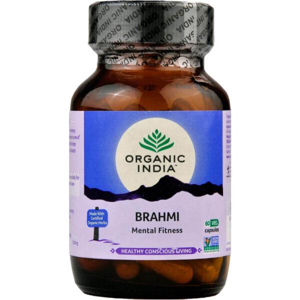 Bylinné kapsuly Brahmi od Organic India