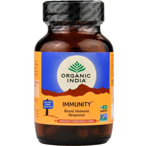 Bylinné kapsuly Immunity od Organic India