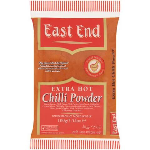 Chilli korenie extra pálivé 100 g od East End
