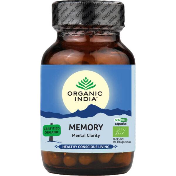 Bylinné kapsuly Memory od Organic India