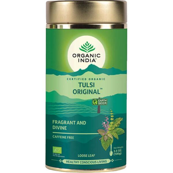 Sypaný čaj Tulsi Original od Organic India