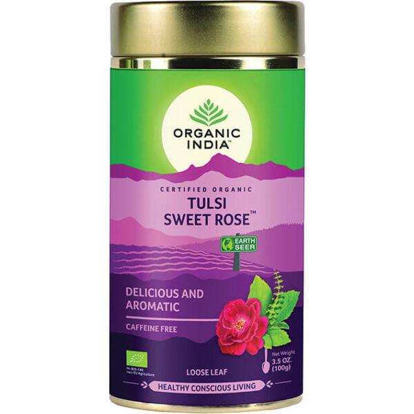 Sypaný čaj Sladká ruža od Organic India